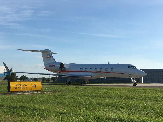 Gulfstream Aerospace Gulfstream V (N126HR) - Hard Rock Gulfstream in TPA.