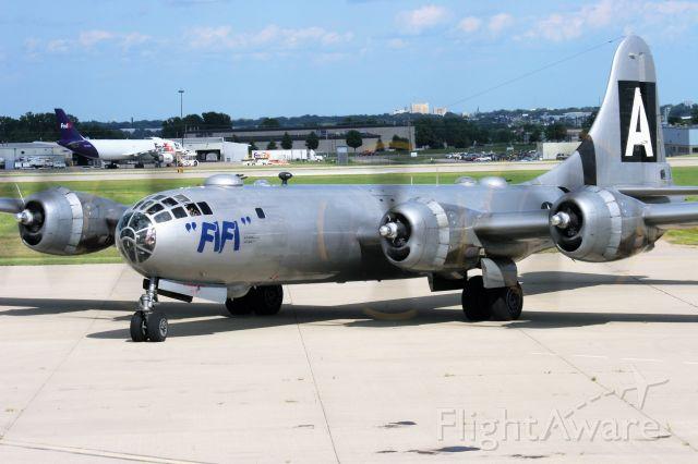 Boeing B-29 Superfortress (N529B) - B-29 Fifi at Appleton during EAA Week Airventure 2014.