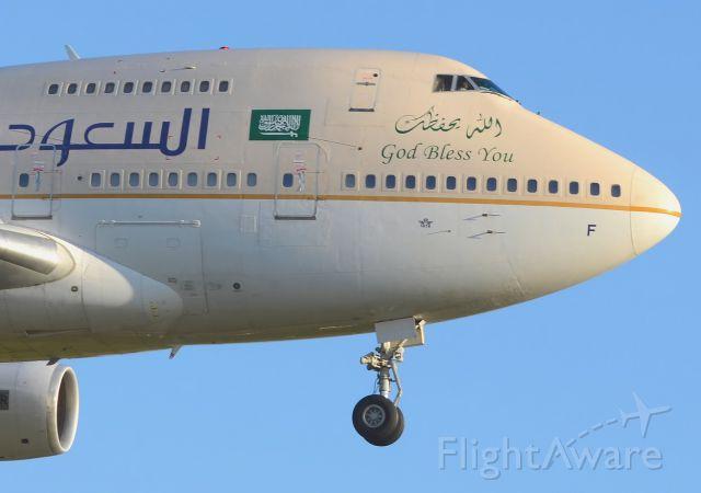 BOEING 747SP (HZ-AIF) - 30/09/2012 landing 25br /a rel=nofollow href=http://lfpb-didairbus.blogspot.fr/http://lfpb-didairbus.blogspot.fr//a