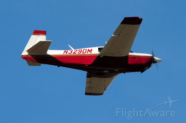 Mooney M-20 (N329DM) - Mooney VFR departure to the north