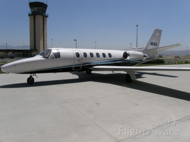 Cessna Citation II (N881A) - Cessna Citation Bravo C55/Q