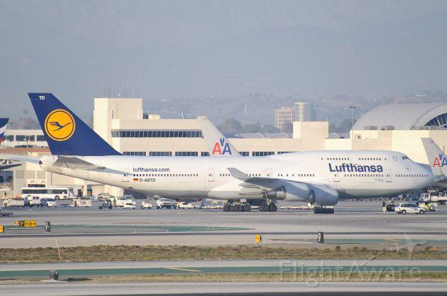 Boeing 747-400 (D-ABTD)
