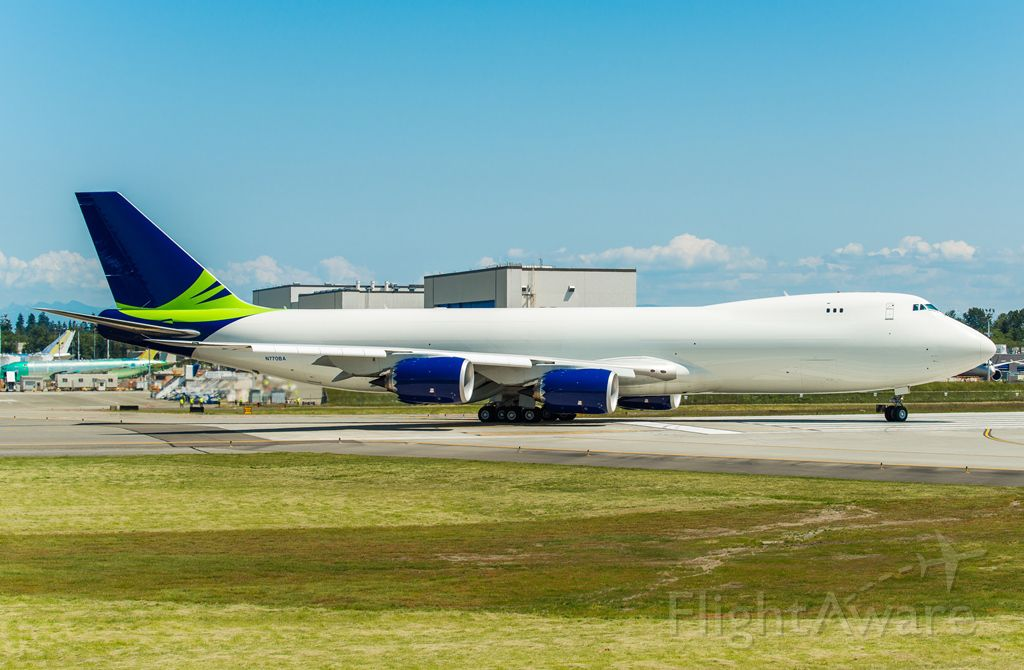 Boeing 747-200 (N770BA) - Taxing to fly to FGSL/ SSG
