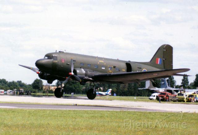 Douglas DC-3 — - Douglas C-47