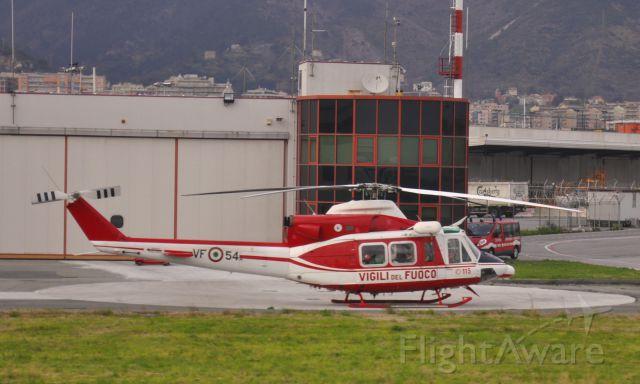 Bell 412 (I-VFOF) - Corpo nazionale dei vigili del fuoco Agusta AB-412 Grifone I-VFOF / VF-54 in Genova