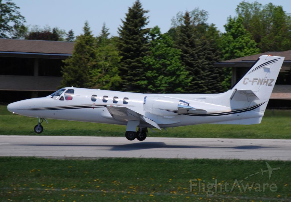 Cessna Citation 1SP (C-FNHZ) - Landing runway 33 CYKZ Buttonville