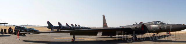 Lockheed ER-2 (80-1086) - CCA 2017