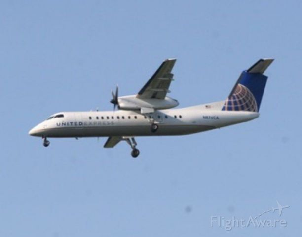 N876CA — - Hey, Rember when we never thought the DASH 8 would get retired?