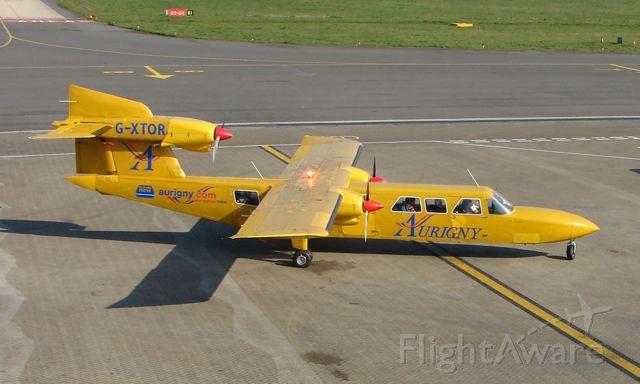 Saab 340 (G-XTOR) - Britten Norman Trislander at Southampton UK