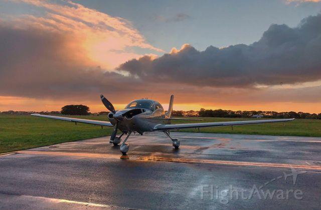 Cirrus SR-22 (VH-PQV) - Dawn Arrival