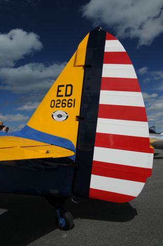 — — - Picture taken at Vintage Wing of Canada open house 2010