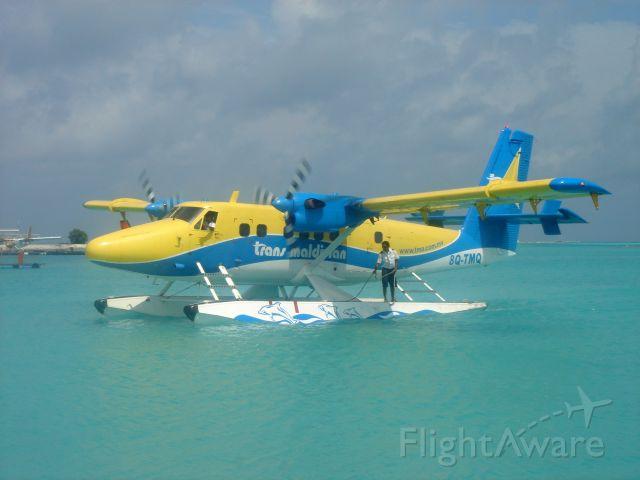 De Havilland Canada Twin Otter (8Q-TMQ) - TMA-Trans Maldivian Airlines