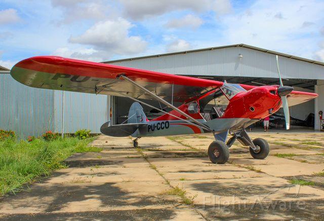 Piper L-21 Super Cub (PU-CCO) - North Land PA-18 PU-CCO  - Clube de Ultraleve do Piauí