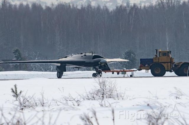 — — - Pilot model of UAV, military space forces of Russia