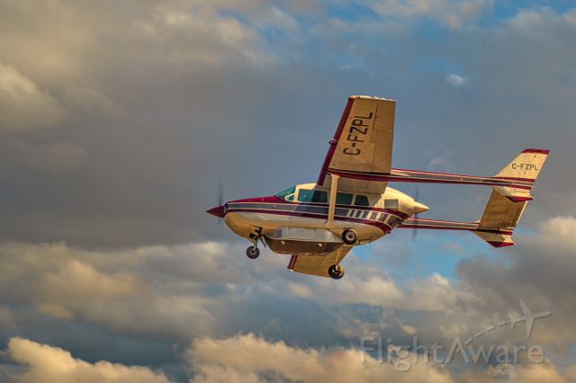 Cessna Super Skymaster (C-FZPL) - A little Pull. A little Push. Cessna 337F Sky Master
