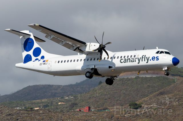 Aerospatiale ATR-72-500 (EC-MUJ)