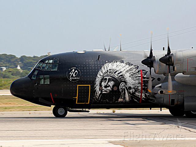 Lockheed C-130 Hercules (BMJ13) - BELGIAN AIR FORCE AY TOULON HYERES FRANCE