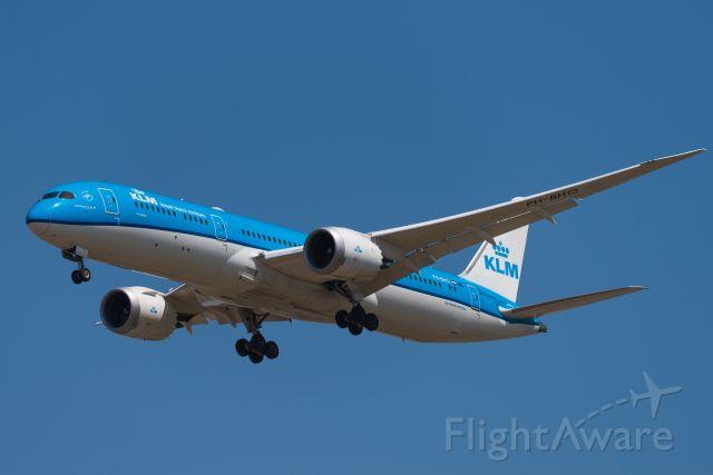 Boeing 787-9 Dreamliner (PH-BHO) - KLM's B789 landed at ZSPD-19.4.12