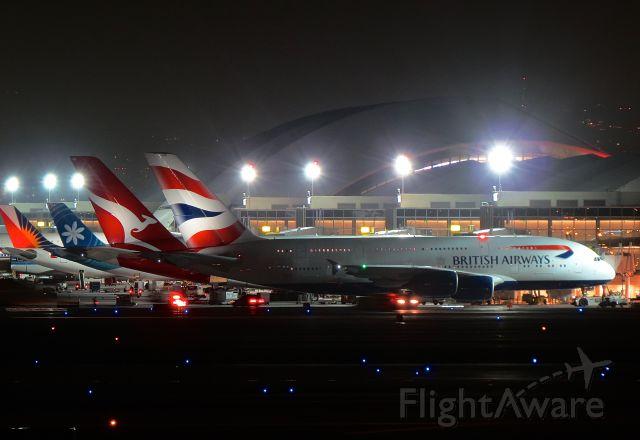 """Airbus A380-800 (G-XLEE) - <a rel=""""nofollow"""" href=""""http://flightaware.com/live/flight/GXLEE/history/20141210/0445Z/KLAX/EGLL"""">https://flightaware.com/live/flight/GXLEE/history/20141210/0445Z/KLAX/EGLL</a>"""