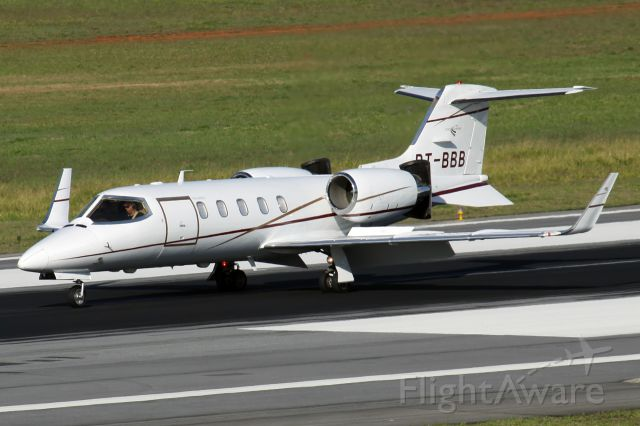 Learjet 35 (PT-BBB) - My photos are the best of FlightAware!