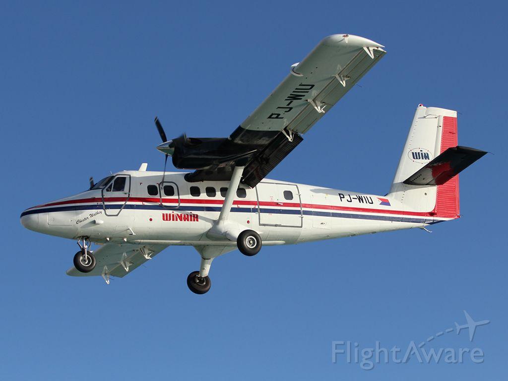 De Havilland Canada Twin Otter (PJ-WIU)