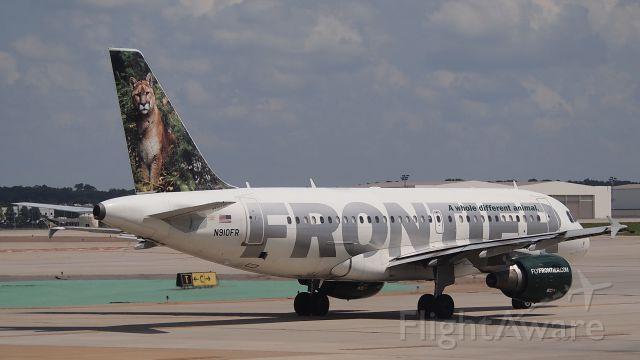 """Airbus A319 (N910FR) - """"Sal"""""""