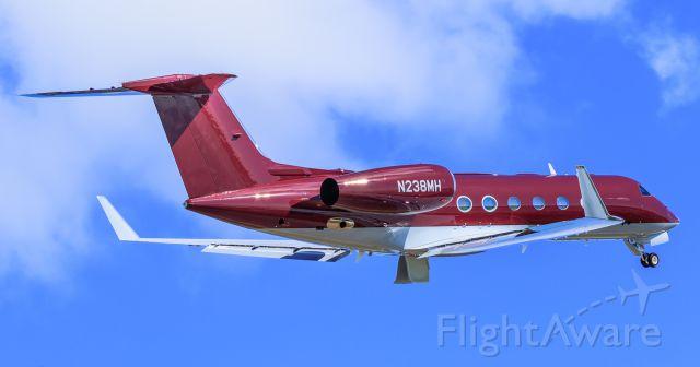 Gulfstream Aerospace Gulfstream IV (N238MH) - N238MH departing TNCM St Maarten