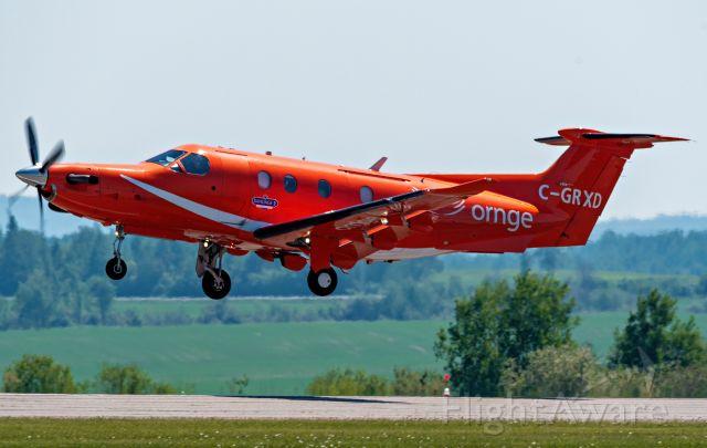 Pilatus PC-12 (C-GRXD) - Patient Transfer Takeoff