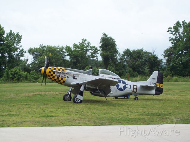 """North American P-51 Mustang (46-3684) - Yet another """"WW II in color"""" series."""