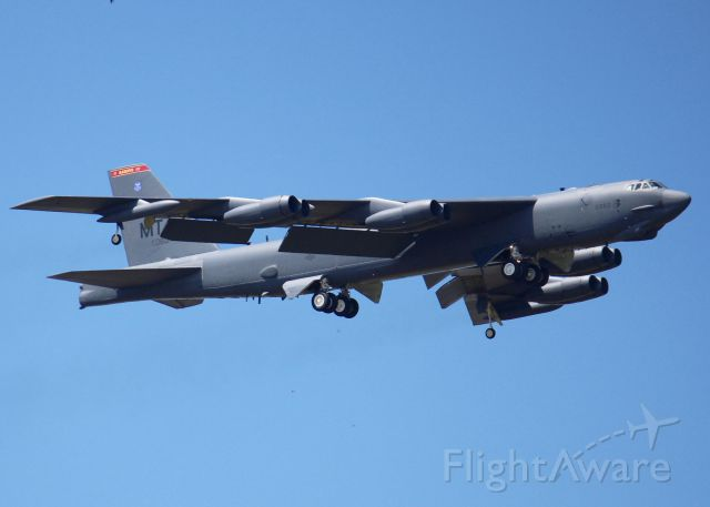Boeing B-52 Stratofortress (60-0060) - At Barksdale Air Force Base. From Minot AFB.