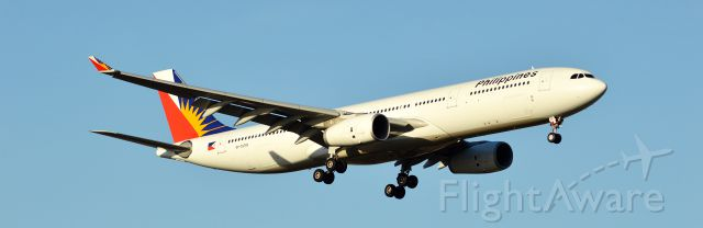 Airbus A330-300 (RP-C8760) - Simple livery, but still looks awesome.