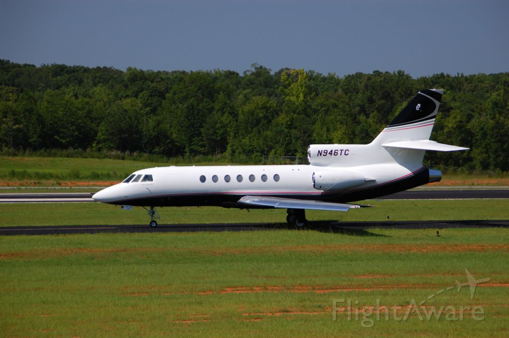 Dassault Falcon 50 (N946TC) - CFA Aviation is back home from a major overhaul and new paint...looks sharp!!