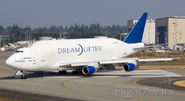 Boeing Dreamlifter (N718BA) - One of Boeing