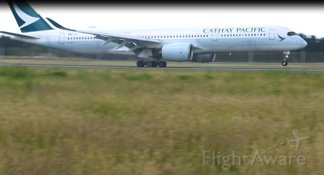 Airbus A350-900 (B-LRF) - A350 landing at NZCH, December 2018
