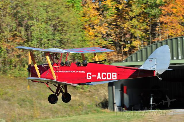 OGMA Tiger Moth — - Old Rhinebeck Aerodrome