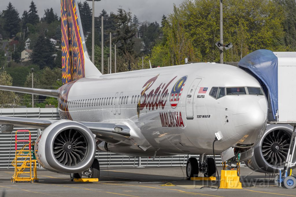 Boeing 737 MAX 8 — - First Max delivered!