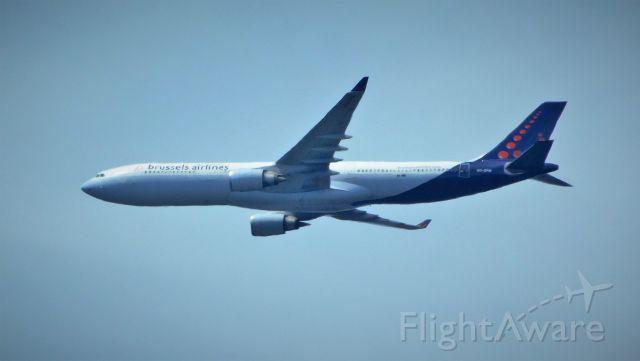 Airbus A330-300 — - 6 miles ENE of IAD.