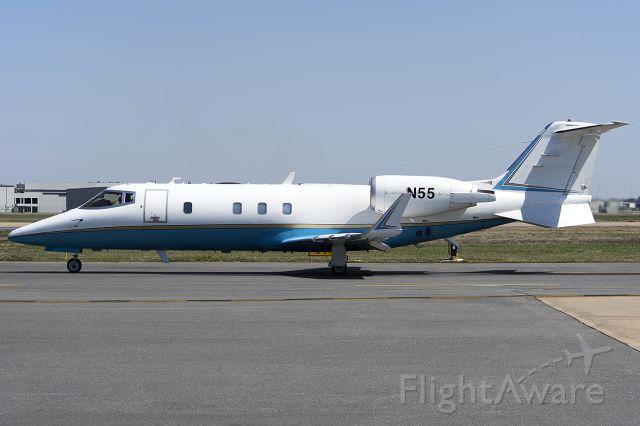 Learjet 60 (N55) - FAA departing Little Rock. March 2013.