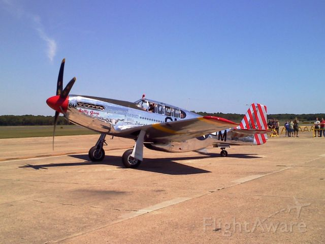 "North American P-51 Mustang (N251MX) - ""Betty Jane"" Very sucessful in WWII"