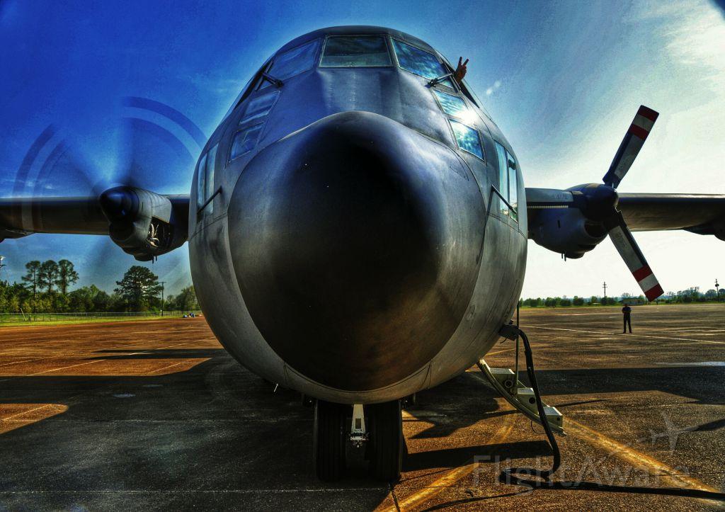 Lockheed C-130 Hercules (N131EC) - Starting 2