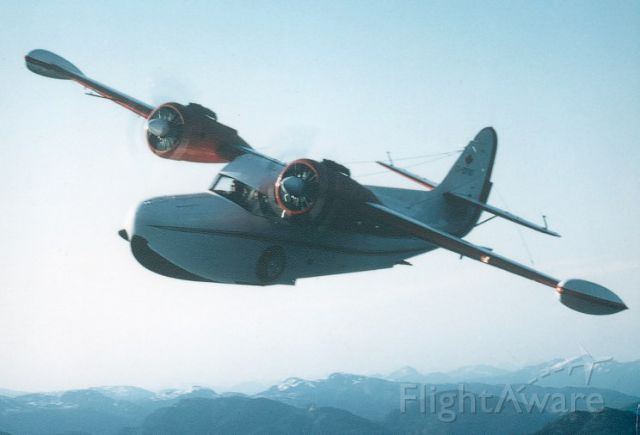 Grumman Goose (C-GYVG) - Goose C-GYVG air to air near Ketchikan Alaska shot by Bucky Dawson