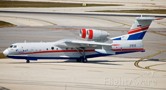 RF-21512 — - Russia - Ministry for Emergency Situations (MChS) RF-21512 Beriev Be-200ChS