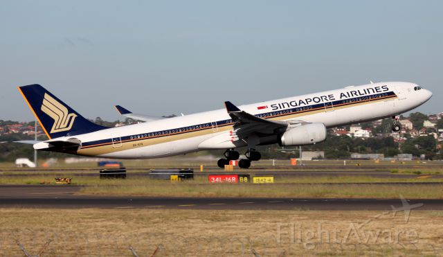 Airbus A330-300 (9V-STQ) - Lifting Off From 34L