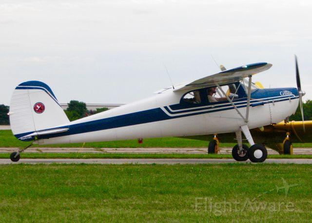 Cessna 140 (N2411N) - At Oshkosh. 1947 Cessna 140