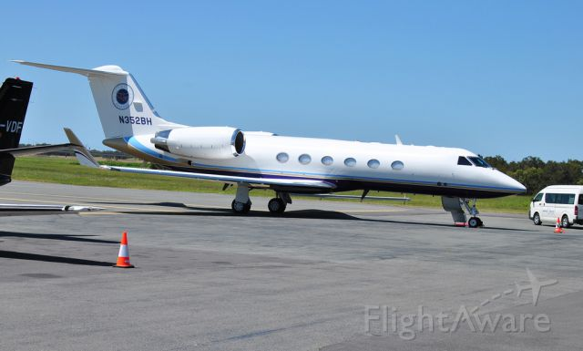 Gulfstream Aerospace Gulfstream IV (N352BH) - This is the private jet aircraft of Pastor Benny Hinn.