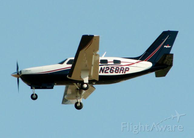 Piper Malibu Mirage (N268RP) - At Shreveport Regional.