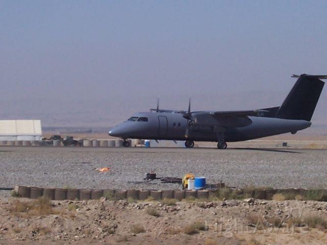 de Havilland Dash 8-100 (N810LR) - FOB Sharana, Afghanistan Oct 1, 2009