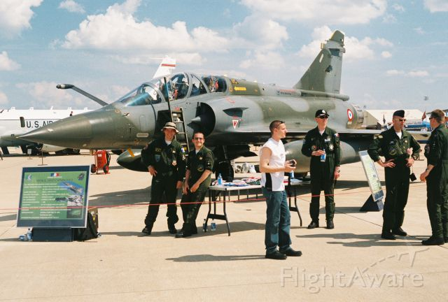 DASSAULT-BREGUET Mirage 2000 — - Dassault Mirage 2000D of Armée de l