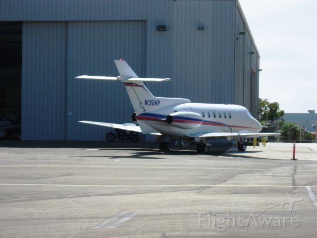 Hawker Siddeley HS-125-400 (N35WP) - 1974 Hawker Siddeley HS-125-600A<br />Parked at McClellan-Palomar Airport, Carlsbad, CA
