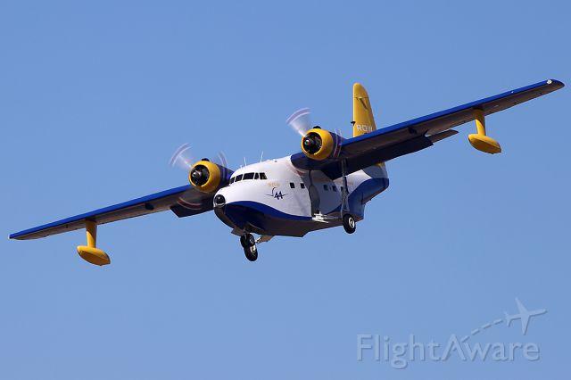N44HQ — - Grumman HU-16B flyover during the airshow.